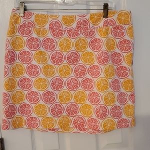 Vineyard vines skirt, size 10